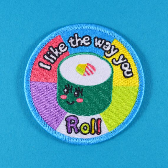 I Like The Way You Roll - Iron-On Patch