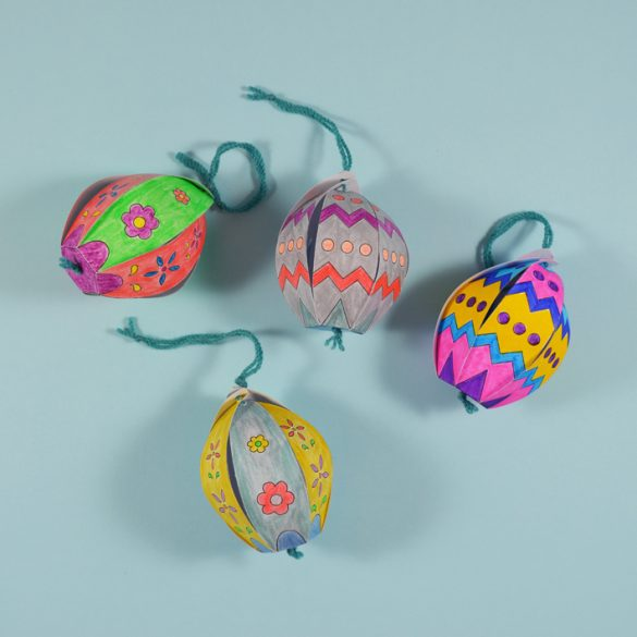Paper Easter Egg Decoration