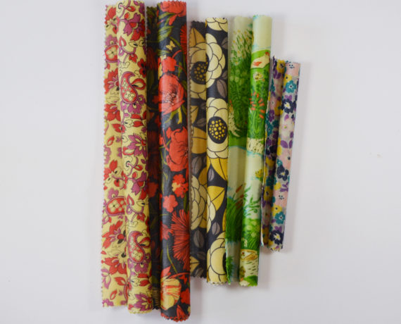 Beeswax Fabric Food Wraps