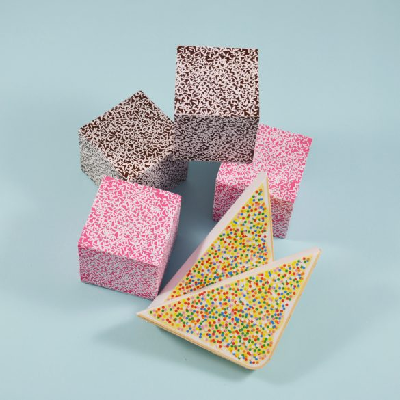 Paper Lamington & Fairy Bread