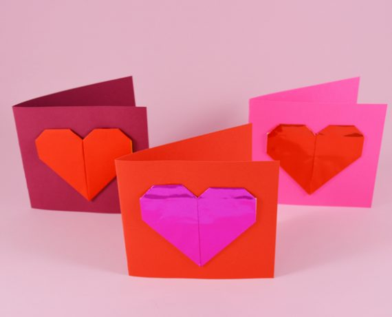 Fun With Origami Love Hearts